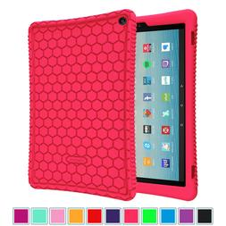 """For Amazon Fire HD 10 10.1"""" 7th Generation 2017 Tablet Silic"""
