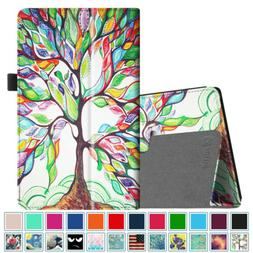 For Amazon Fire HD 8 inch Tablets Case Slim Fit Vegan Leathe