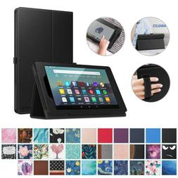 Moko For Amazon Fire 7 2019 9th Gen Tablet Smart Case Flip L