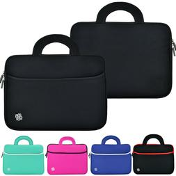 For Apple Android Tablet Slim Soft Neoprene Handle Carry Sle
