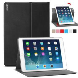 For Apple iPad Air 2 Tablet Poetic Leather Slim 360 Degree R