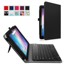 Bluetooth Keyboard Case Stand Cover for Dragon Touch V10 10-