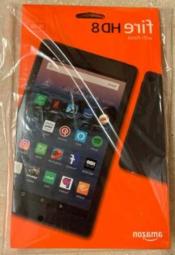 BRAND NEW Amazon  Fire HD 8 Tablet 16 GB w/Alexa 8th Gen  -