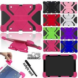 Bumper Silicone Stand Cover Case Fit Various Dragon Touch  T