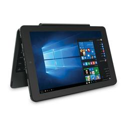 """RCA Cambio 10.1"""" 2-in-1 Quad-Core Windows 10 Tablet with det"""
