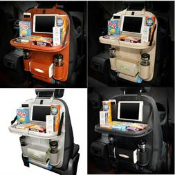 Car Back Seat Organizer With Phone Tablet Holder Touch Scree