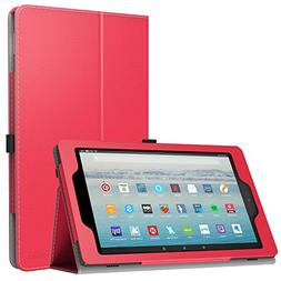 MoKo Case for All-New Amazon Fire HD 10 Tablet  - Slim Foldi