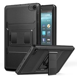 MoKo Case for All-New Amazon Fire 7 Tablet  -  Shockproof Fu