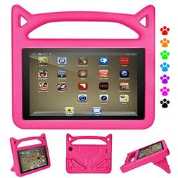 HD 8 Tablet Case,HD 8 Case-Dinines Light Weight Shock Proof