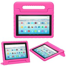 MoKo Case for All-New Amazon Fire HD 10 Tablet  - Kids Shock