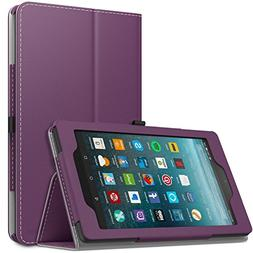 MoKo Case for All-New Amazon Fire 7 Tablet  - Slim Folding S