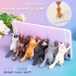 Cat Mobile Phone Holder Stand Sucker Tablets Smartphone Hold