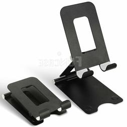 Cell Phone Tablet Switch Stand Aluminum Desk Table Holder Cr