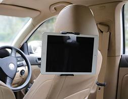2-in-1 Tablet and Cellphone Adjustable Universal Car Headres