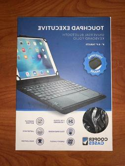 """Cooper Touchpad Executive Keyboard Case 8-8.9"""" Inch Tablets"""