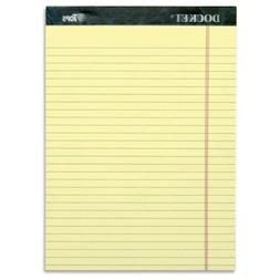TOPS Docket Writing Tablet, 8-1/2 x 11-3/4 Inches, Perforate