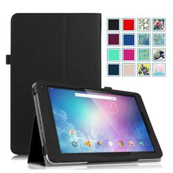 For Dragon Touch V10 10-Inch Android Tablet Case Slim Leathe