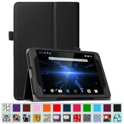 For Dragon Touch X80 8-Inch  Folio Case Cover with Stylus Ho