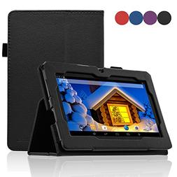 ACdream Dragon Touch Y88X Plus Case, Folio Premium PU Leathe