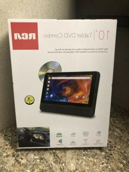 "RCA DRP2091 A 10"" Tablet/Portable DVD Player Combo with Goog"