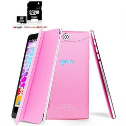 Indigi Dual Core Android Tablet & Phone + Smart Cover + 32GB