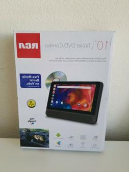 RCA DVD PLAYER WITH TABLET 10 INCH DRP2091 A New in box