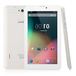 Dragon Touch E71 7'' Quad Core Phablet, Android Phone Tablet