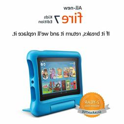 "Fire 7 For Kids Edition Tablet | 7"" Display, 16 GB, Kid-Proo"