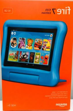 """AMAZON FIRE 7"""" KIDS BLUE TABLET WITH 7"""" DISPLAY 16 GB , 9TH"""