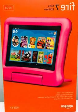 AMAZON FIRE 7 KIDS EDITION PINK TABLET 7-IN. DISPLAY 16 GB -