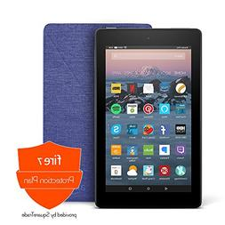 Fire 7 Protection Bundle with Fire 7 Tablet , Amazon Cover