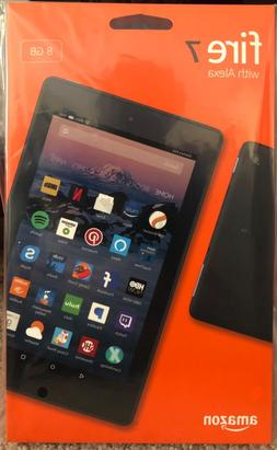 """Fire 7 Tablet with Alexa, 7"""" display, 8 GB, Black.  Wow!!"""