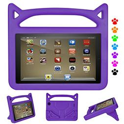F i r e Tablet 7 Case Kids-Dinines Anti Slip Shockproof Ligh