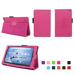 Elsse Fire 7 2015 Folio Case with Stand for Kindle Fire 7  -