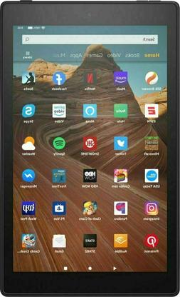 Amazon Fire HD 10  32GB, Wi-Fi, 10.1in - Black with Special.