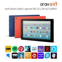 "Fire HD 10 Tablet with Alexa Hands-Free, 10.1"" 1080p Full HD"