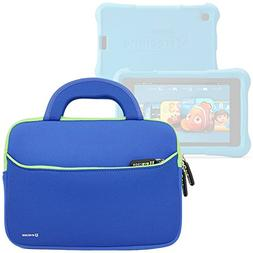 Evecase All-New Fire 7 Kids Edition Tablet Sleeve, Ultra Por