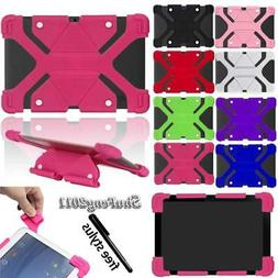 Shockproof Silicone Stand Cover Case Fit Various Dragon Touc