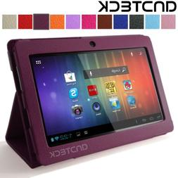 Andteck Flip Leather Case for Zeepad 7.0, Dragon Touch A13 Q