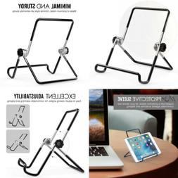 MoKo Foldable Tablet Stand, Adjustable Portable Metal Holder