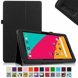 Folio Stand Case Cover for Dragon Touch X10 2015 / Azpen A10