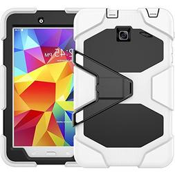 Galaxy Tab E 8.0 Case, Beimu 3 in 1 Hard PC+Silicone Hybrid