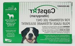 CAPSTAR Green 6 Tablets for Dogs over 25 lbs - EXP 05.2020