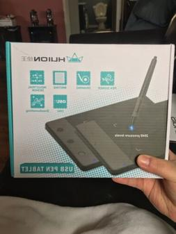 Huion H420 USB Graphics Drawing Tablet Board Kit NEW LOOK