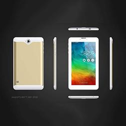 Hanbaili 7 inch Phablet Unlocked 3G, Quad Core Android Table