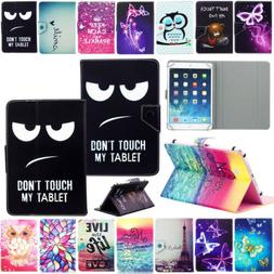 """For 7"""" 10"""" 10.1"""" Inch Android Tablet Universal PU Leather Ca"""