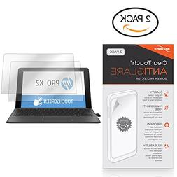 HP Pro x2 612 G2 Tablet Screen Protector, BoxWave ] Anti-Fin