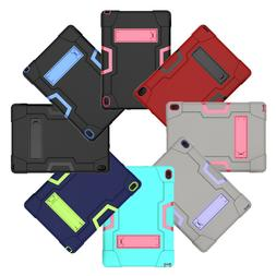 Hybrid Shockproof Rugged Hard Armor Tablet Case For Lenovo T