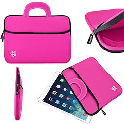 """KOZMICC 7-8"""" Tablet Ultra-Portable Case Bag with Handle & Po"""