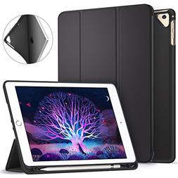 Ztotop Newest iPad 9.7 Inch 2018 Case with Pencil Holder -Li